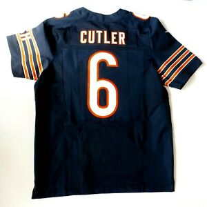 Mens Nike NFL On Field Chicago Bears Jay Cutler #6 Stitched Football Jersey L/44