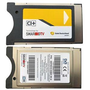 SmarDTV CI+ Modul für Kabel Deutschland, Vodafone D03 D08 Karten (Gelb)