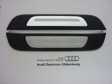 Original Audi Einstiegsleisten Audi A3 HINTEN, 2-teilig, Ziereinlage Aluminium