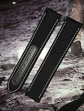 OMEGA GENUINE 20mm SNOOPY SILVER AWARD EYES ON THE STARS SPEEDMASTER MOON STRAP
