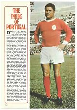 BENFICA & PORTUGAL - EUSEBIO - 1970 FULL PAGE PICTURE