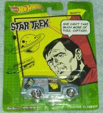 Hot Wheels Pop Culture Star Trek Series custom 52 chevy 2014