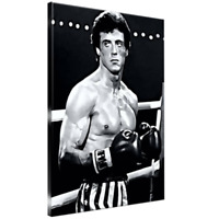 Rocky Balboa Framed Canvas Art Picture A4 A3 A2 A1 Print Poster Ready To Hang