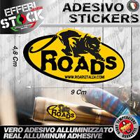Adesivo Adesivi Sticker Pegatina ROADS Italia HONDA SUZUKI KTM EXAUST 200° Gradi