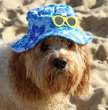 Hawaiian dog cap hat - medium, large & Xlarge, adjustable new