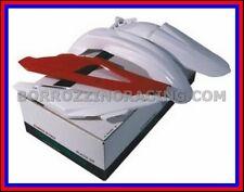KIT PLASTICHE CARENE 4 PZ TABELLE PARAFANGHI HUSQVARNA CR WR 125 09/12 NERO