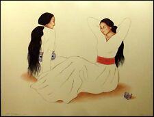 R.C.Gorman Shoshana's Bracelet ORIGINAL Lithograph ARTWORK MAKE AN OFFER