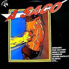 LPx2 - A Saco Mix - Various Artists (MAKINA,TECHNO&DANCE) SPANISH COMPIL. 1994