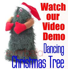 "NEW 10"" Singing and Dancing Artificial Christmas Tree 9998"