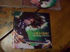 Joe Perry Autographed CD - Have Guitar, Will Travel CD - Hand Signed / Aerosmith