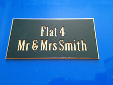 House/Flat/Home-Number/Name-Engraved-Plaque-Sign- Free Engraving and P&P