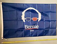JOE BIDEN FLAG *FREE SHIP USA SELLER!* Bernie Sanders Blue Face Poster Sign 3x5'