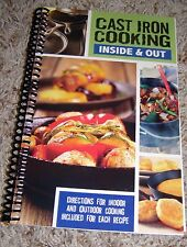 Cast Iron Cooking Cookbook, 120+ pgs. Recipes Breakfast, Desserts, Main Meals +