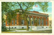 Monroe, MI x The Post Office 1934