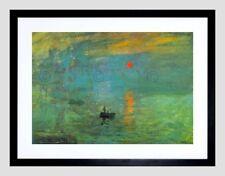 Claude Monet Sunrise Decorative Posters & Prints