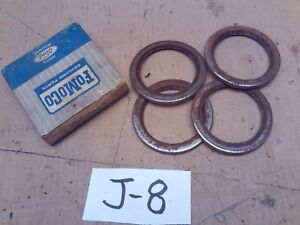 NOS NEW OLD STOCK FORD LINCOLN MERCURY BEARING GREASE RETAINER B9C-1190-A 4 PCS