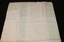 Threshold Arrow Fabric Shower Curtain Ivory Aqua 72x72 nwop #974