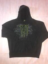 Monster Energy Beverage P/O Hoodie Hoody Sweater Hooded Sweatshirt Black XXL