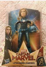 Marvel Captain Marvel (Starforce) Super Hero Doll with Helmet Accessory