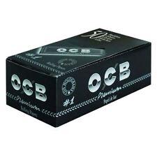 OCB Papel De Liar Negro Estándar No1 Caja de 50