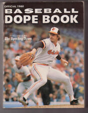1980 Baseball Dope Book/ Sporting News Mike Flanagan Orioles cover/LaRussa/Torre