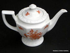 MONTICELLO ORANGE by ROSENTHAL MARIA  3 CUP TEA POT,