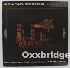 PIANO BLUES 1966 Samuel Charters Folkways Boogie Woogie RARE Vinyl LP