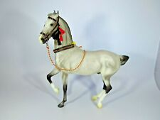 Breyer Rajah Collector Club 2014 Web Special Marwari dapple grey with tack