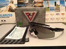 Oakley M Frame 2.0 SI Matte Black w/ Grey Strike SKU# 11-140 + USA BAG & VAULT