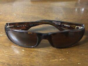 Maui Jim MJ103-10 Stingray Rectangular Tortoise 55[]23 Polarized Sunglasses