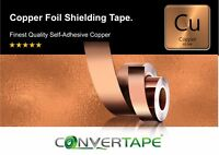 High Quality Guitar EMI Shielding Self Adhesive Copper Foil Tape 30mm x 3M