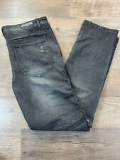 Balmain Distresed Black Jeans Size  40 X 33 New