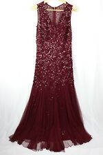Flirt By Mr K, Red Sequin Dress Size 16 30256
