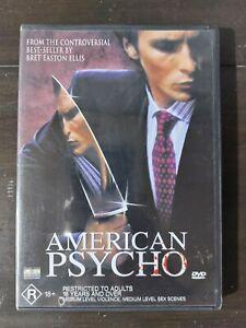 American Psycho DVD * RARE OOP * FREE POST * Christian Bale
