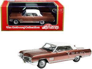 1964 BUICK WILDCAT DARK CORAL MIST 1/43 MODEL CAR GOLDVARG COLLECTION GC-028 A