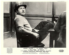 12 Angry Men original 8x10 UK lobby card Jack Warden with feet on desk