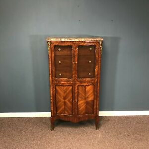 Vintage French Marble Top Lingerie Chest