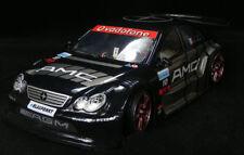 DIY HPI HSP RC Black Benz AMC Drift Car 1/10 PVC Car Body shell 94122 94123
