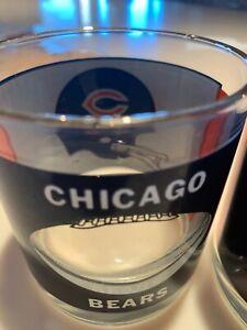 Chicago Bear's glasses/highball two/2