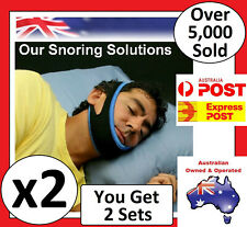 Anti Snore AntiSnore Device Jaw Strap Stop Snoring Chin Sleep Apnea Belt Apnoea
