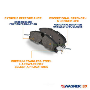 Disc Brake Pad Set-SevereDuty Disc Brake Pad Front,Rear Wagner SX1418