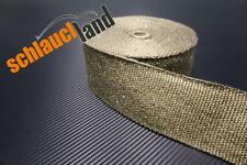 10m Titan Hitzeschutzband 75mm 1400°C *** Heat Wrap VW Audi Turbo Fächerkrümmer