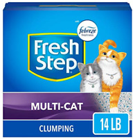 Fresh Step Multi-Cat Clumping Litter with Febreze