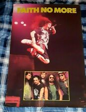 FAITH NO MORE 1990 USA PROMO POSTER SUPERB CONDITION READY TO FRAME!