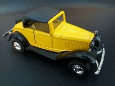 WELLY DIECAST FORD ROADSTER 8875  YELLOW CAR MODEL