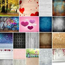 Multi-Type 3x5ft Adult Newborn Baby Photography Backdrops Wood Flower Photo Prop