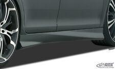 RDX Seitenschweller Audi A4 B8 8K Seiten Schweller Set Spoiler Leisten ABS SL393
