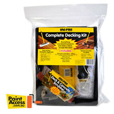 Uni-Pro Complete Decking Kit 230mm - EVERY ACCESSORY YOU NEED TO START DECKING