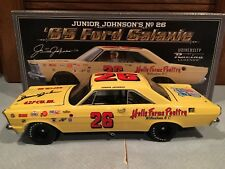 Autographed University of Racing 1965 Junior Johnson Holly Farms Galaxie 1/24