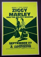 ZIGGY MARLEY & The Melody Makers Vintage Boxing Style Concert Poster 1988 Reggae